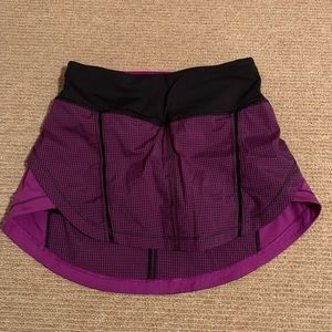 Lululemon Pace Skirt